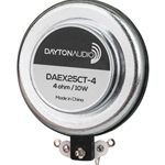 DAEX25CT-4 Coin Type 25mm Exciter 10W 4 Ohm
