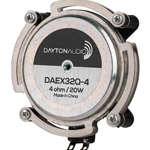 DAEX32Q-4 Dual Steel Spring Balanced Exciter 32mm 20W 4 Ohm