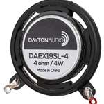 DAEX19SL-4 Slimline Coin Type 19mm Exciter 4W 4 Ohm