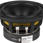 "CX120-8 4"" Coaxial Driver with 3/4"" Silk Dome Tweeter 8 Ohm"