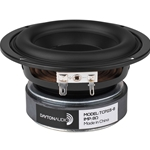 "TCP115-8 4"" Treated Paper Cone Midbass Woofer 8 Ohm"
