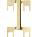 PJMP-G Dual Binding Post Jumper Gold