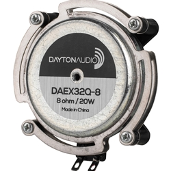 DAEX32Q-8 Dual Steel Spring Balanced Exciter 32mm 20W 8 Ohm
